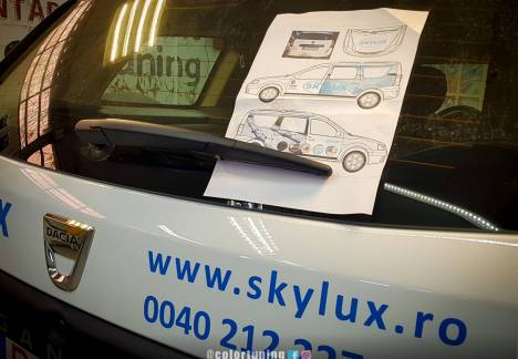 inscriptionare auto skylux